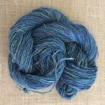 Handspun Hemp Yarn Indigo Dyed