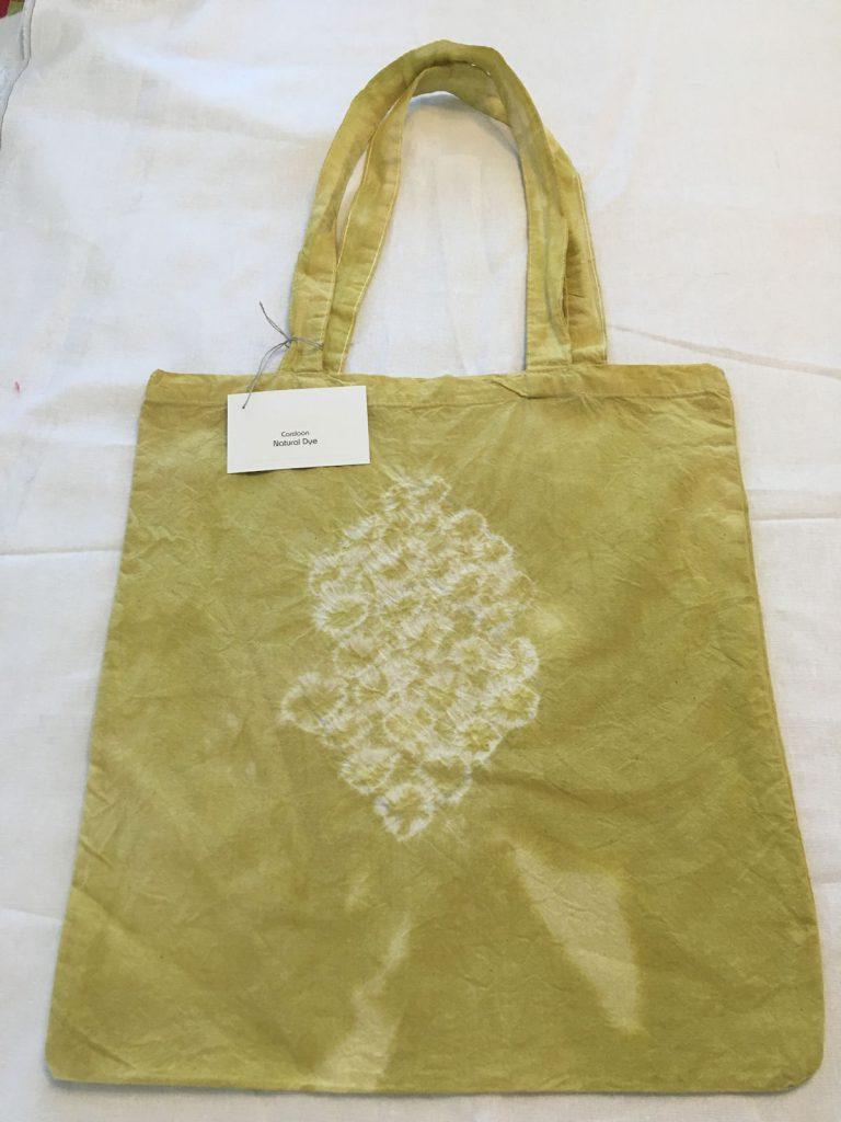 Cardoon Dyed Tote Bag