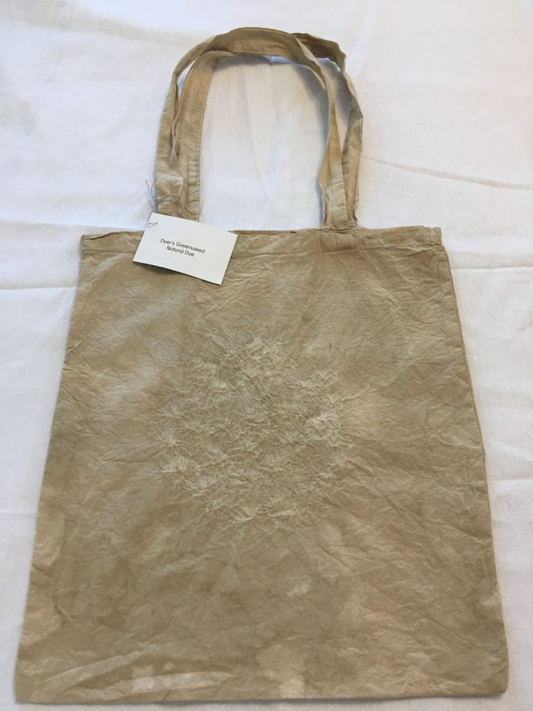 Dyers Greenwood Dyed Tote Bag