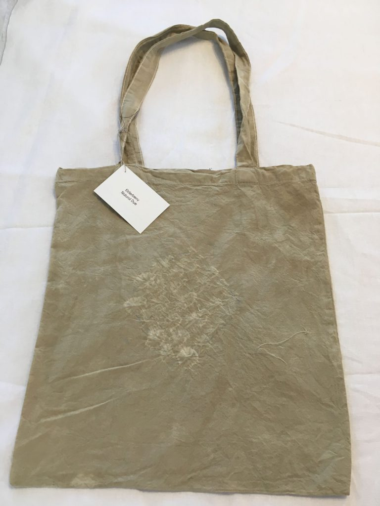 Elderberry Dyed Tote Bag