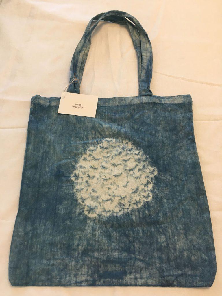 Indigo Dyed Tote Bag 1