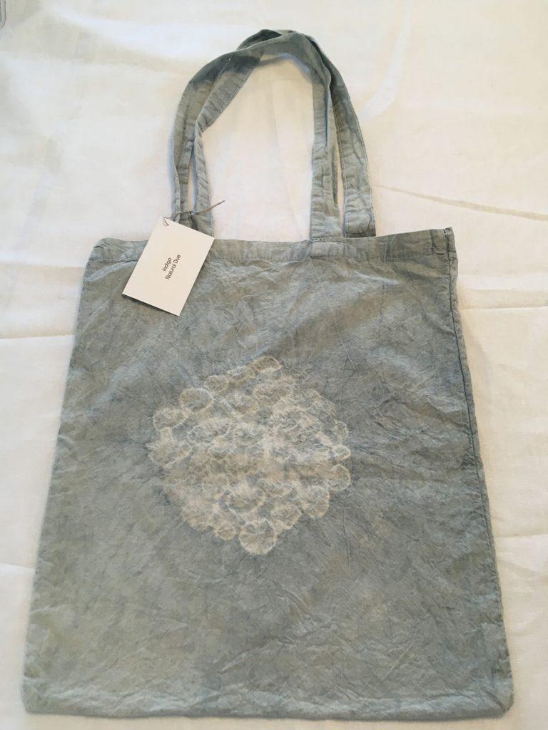 Indigo Dyed Tote Bag 2