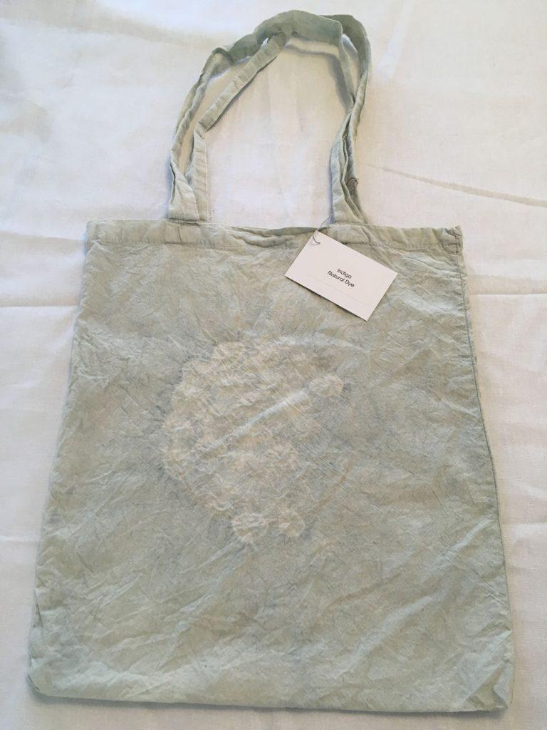 Indigo Dyed Tote Bag 3