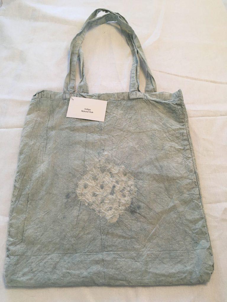Indigo Dyed Tote Bag 4