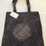 Logwood Dyed Tote Bag 1
