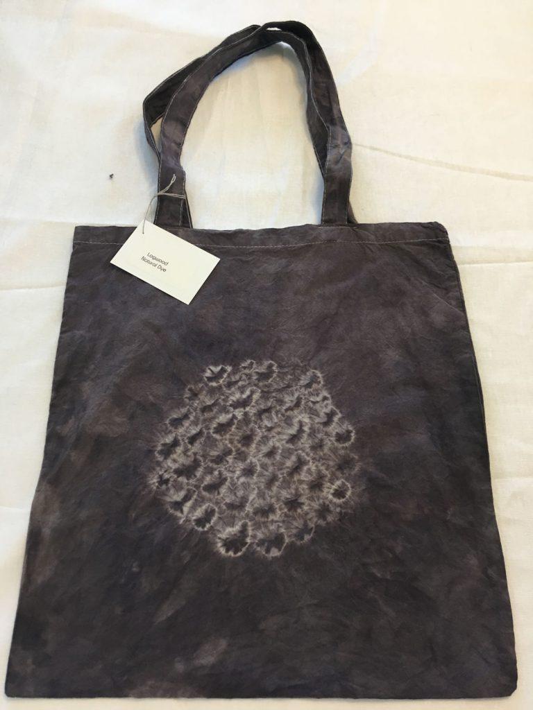Logwood Dyed Tote Bag 1
