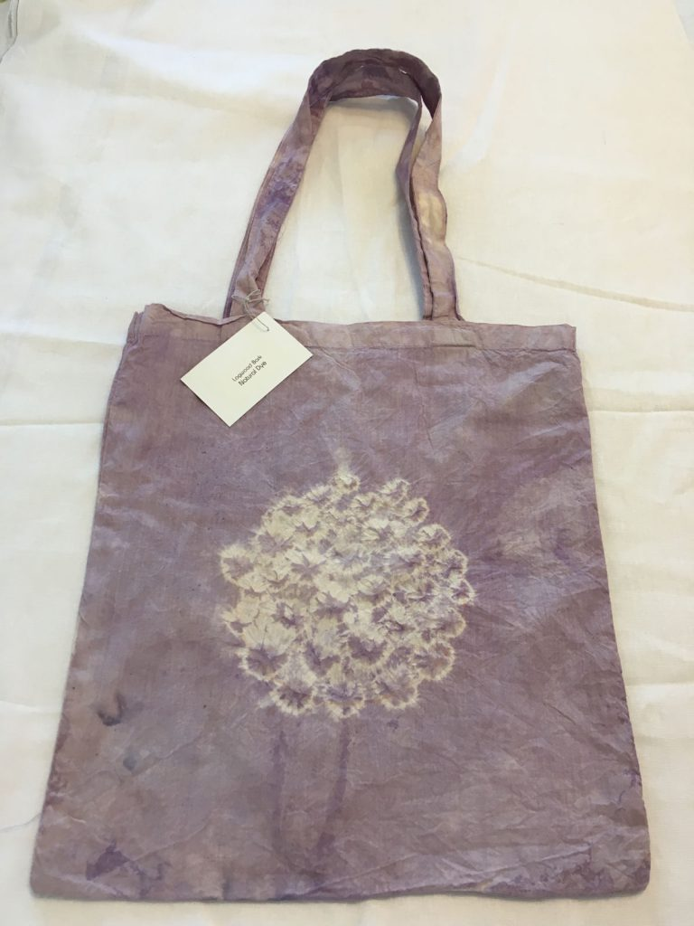 Logwood Dyed Tote Bag 2