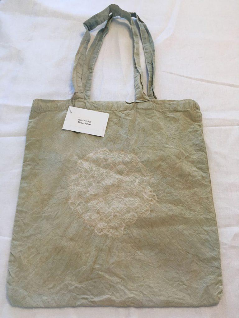 Weld Indigo Dyed Tote Bag